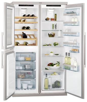 Goede S95900XTM0 AEG Side by side koelkast - de beste prijs PP-61