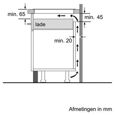 Pie645b18e bosch inductie kookplaat de beste prijs - Installer four encastrable sous plaque ...