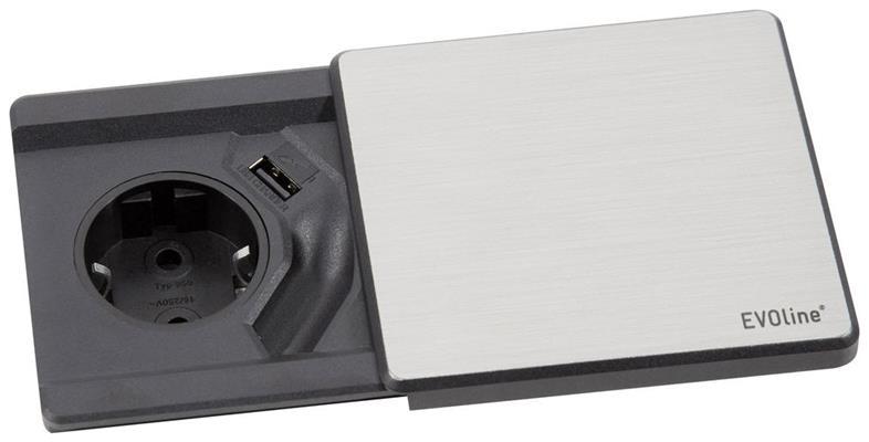 Esq1stib evoline stopcontacten de beste prijs 123apparatuur.nl