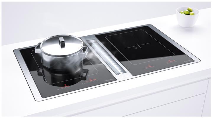 23ml925bii gutmann kookplaat met afzuiging de beste prijs. Black Bedroom Furniture Sets. Home Design Ideas