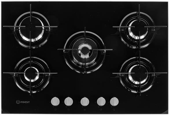 Ongebruikt PR752WIBK INDESIT Gas op glas kookplaat - de beste prijs YM-82