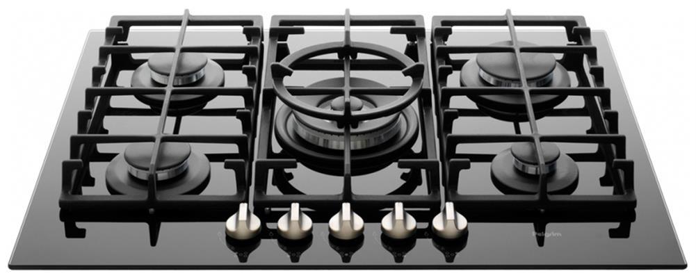 Ongebruikt GK375ONYA PELGRIM Gas kookplaat - de beste prijs - 123Apparatuur.nl DA-18