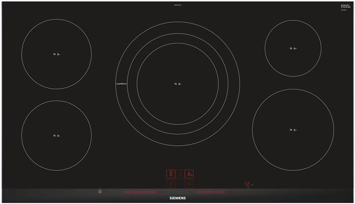 eh975lvc1e siemens inductie kookplaat de beste prijs. Black Bedroom Furniture Sets. Home Design Ideas
