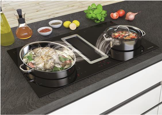 40502 silverline kookplaat met afzuiging de beste prijs. Black Bedroom Furniture Sets. Home Design Ideas