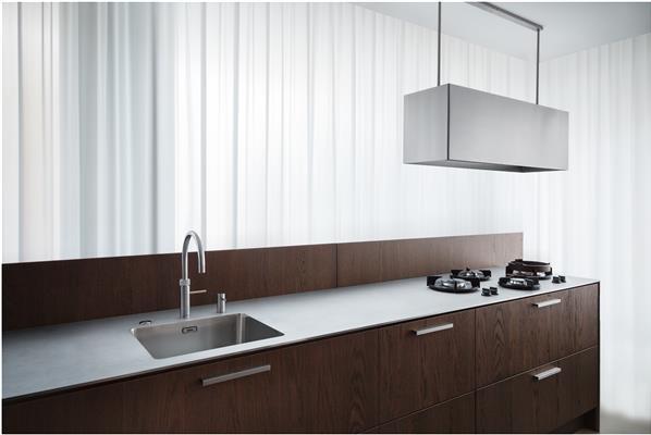 Design Stopcontact Keuken : Wave design eilandschouw afzuigkap de beste prijs